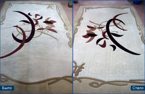 Шампунь Vanish для ручной чистки ковров: помогает